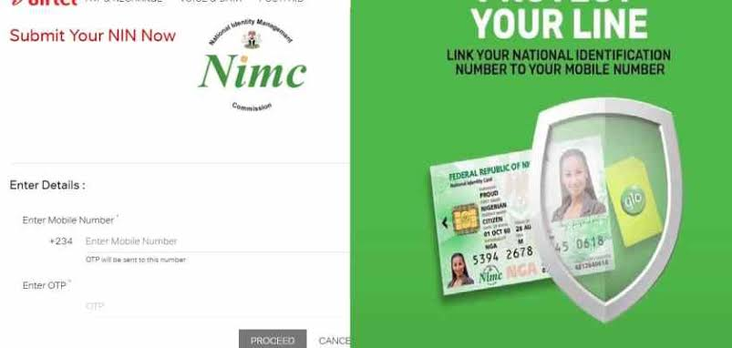 How to link your National Identity Number NIN with your Phone number